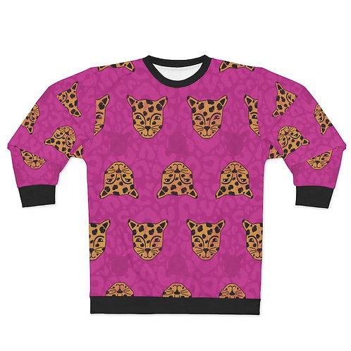 Lovely Leopards AOP Unisex Sweatshirt