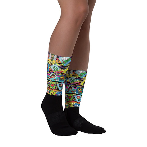 Loteria Night Socks