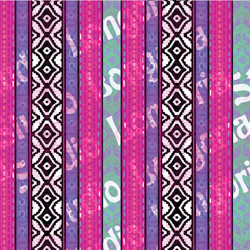 Modern Serape- Ojo Stripe Vertical