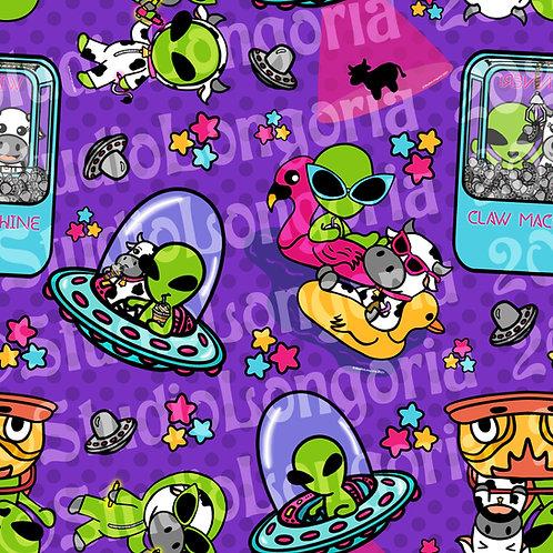 Alien Adventures Fabric