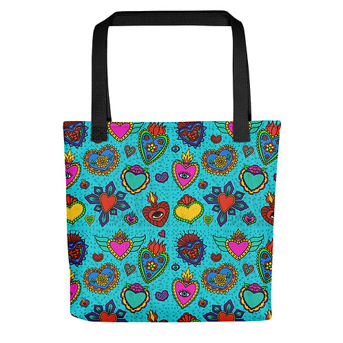 Corazon Milagros Tote bag