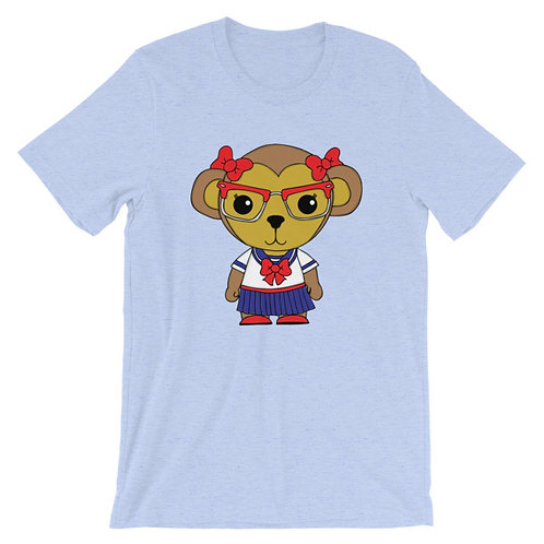 Nerdamals Monkey Adult Unisex T-shirt