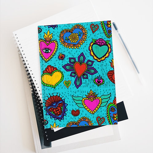 Sacred Heart Milagros Journal - Blank