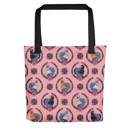 Fancy Chickens Tote bag