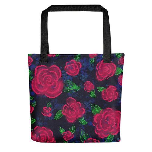 Neon Blooms Tote bag