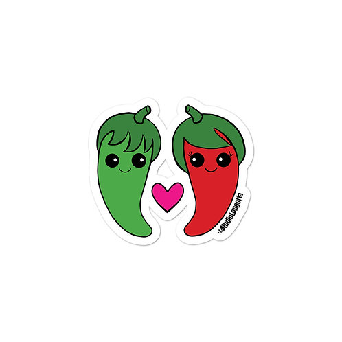 Hot Couple Bubble-free stickers