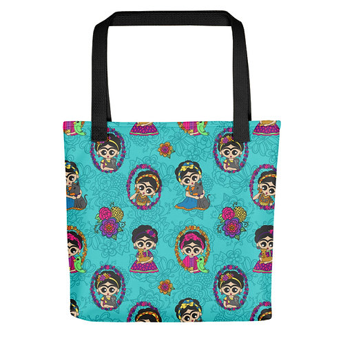 Frida Little Animals Tote Bags