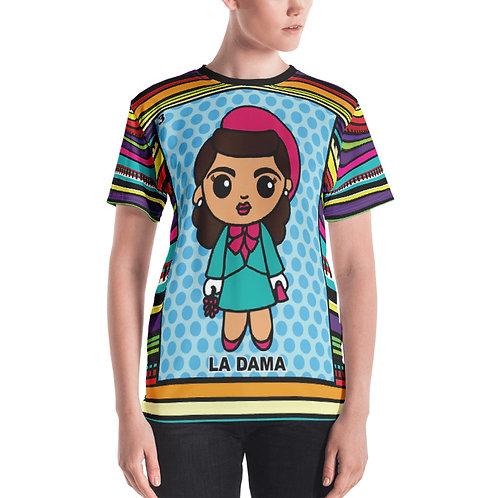 La Dama Print Women's T-shirt