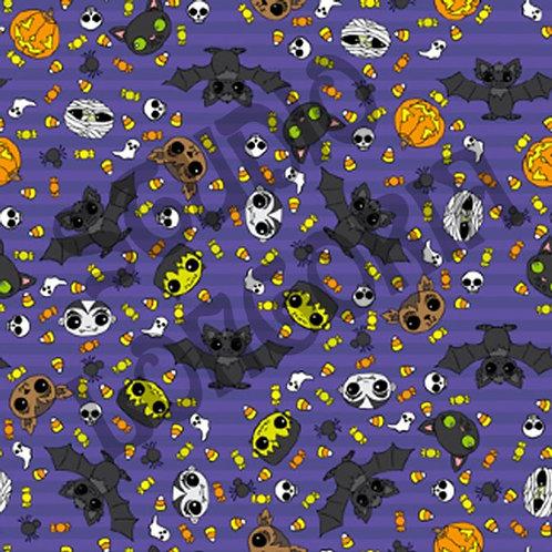 Halloween Night Fabric