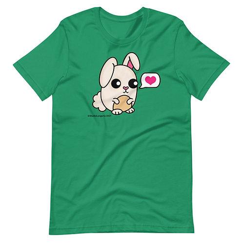 Chubby Bunny Short-Sleeve Unisex T-Shirt