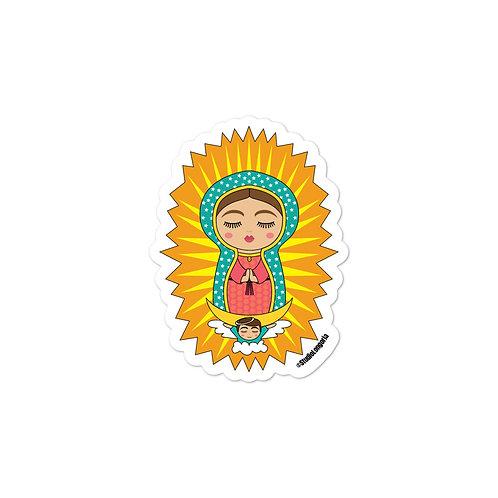 Virgin de Guadalupe Bubble-free stickers