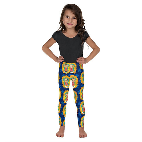 La Virgen de Guadalupe Print Toddler Leggings