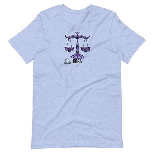 Libra Short-Sleeve Unisex T-Shirt