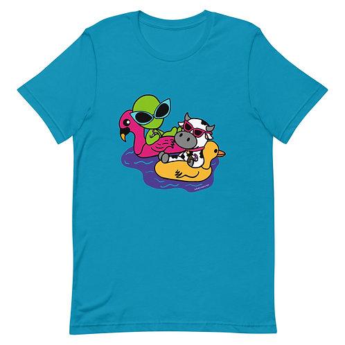 Pool Time Short-Sleeve Unisex T-Shirt