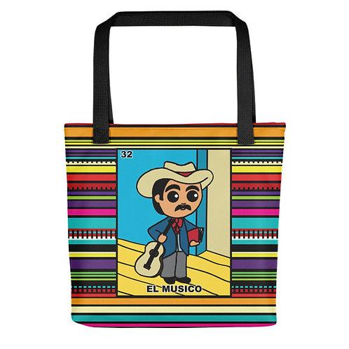 El Musico Tote Bags