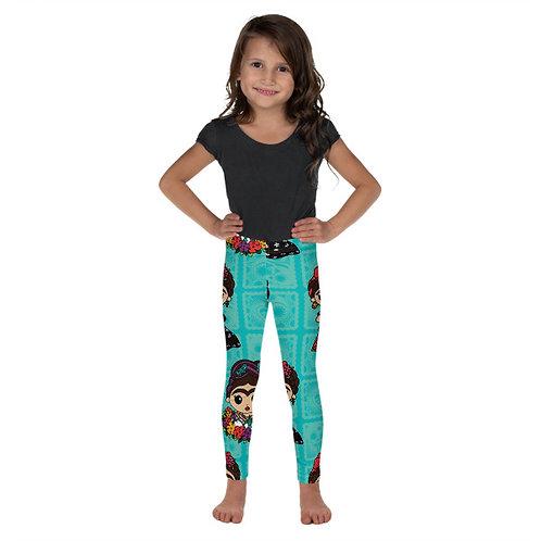 Little Fridas Print Toddler Leggings