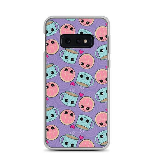 Conchas y Cafecito Samsung Galaxy Phone Case