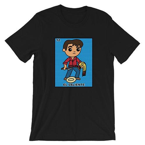 El Valiente Loteria Adult Unisex T-shirt