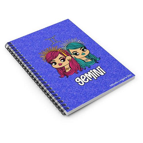 Gemini Spiral Notebook - Ruled Line