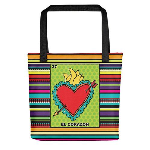 El Corazon Tote Bags