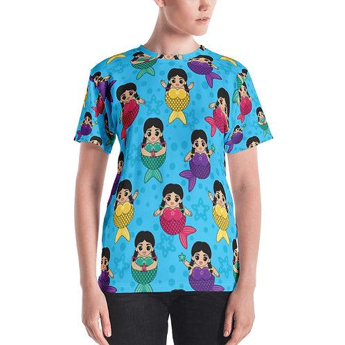 Sirenas  Print Women's T-shirt
