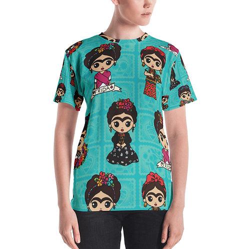 Little Fridas Print Women's T-shirt