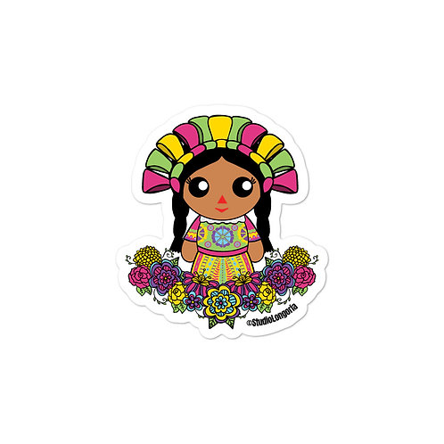 Muneca Bubble-free stickers