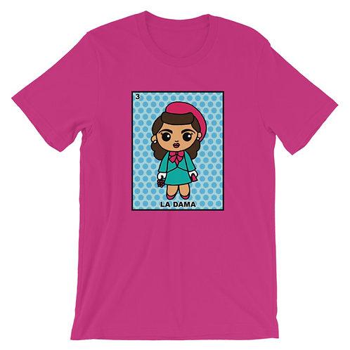 La Dama Loteria Adult Unisex T-shirt