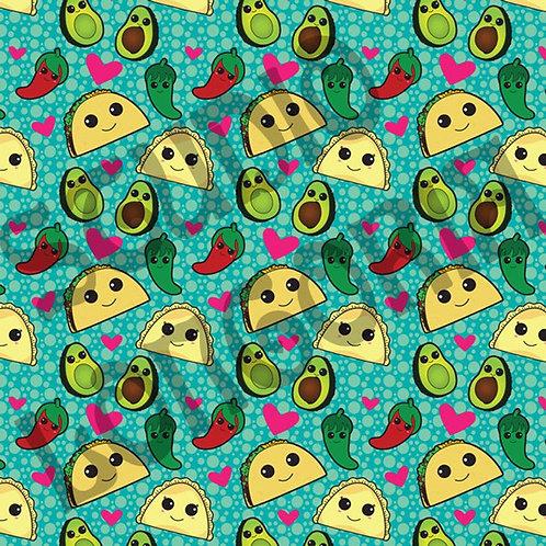 Taco Time Fabric