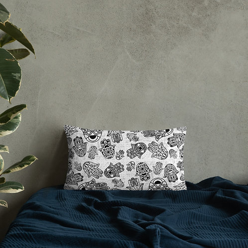 Hand of Fatima Basic Pillow
