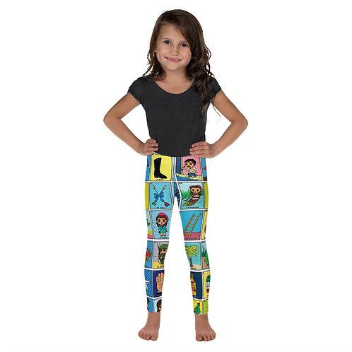 Loteria Print Toddler Leggings