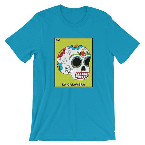 La Calavera Loteria Adult Unisex T-shirt