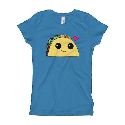 Taco Girl's Slim Fit Tee