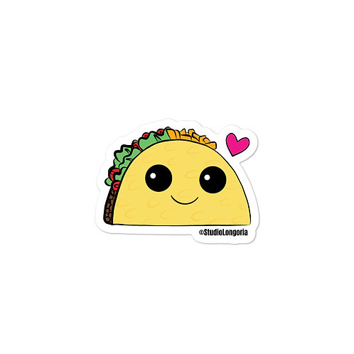 Taco Time Bubble-free stickers