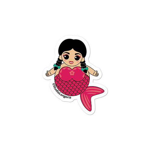 Pink Sirena Bubble-free stickers