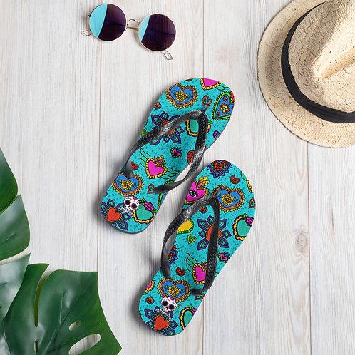 Corazon Milagros Flip-Flops