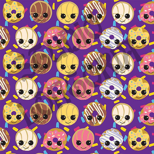 Conchas and Donuts Fabric