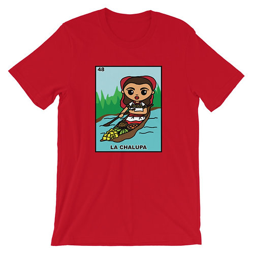 La Chalupa Loteria Adult Unisex T-shirt