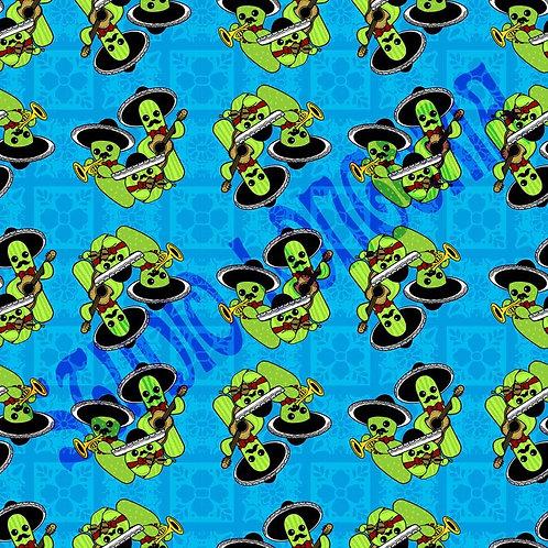 Mariachi Nopalitos Fabric