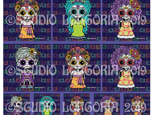 Oh Fifi Catrina XL Panels Fabric