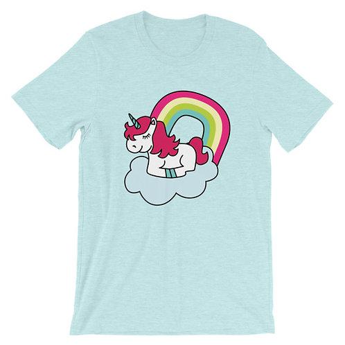 Sleepy Unicorn  Adult Unisex T-shirt
