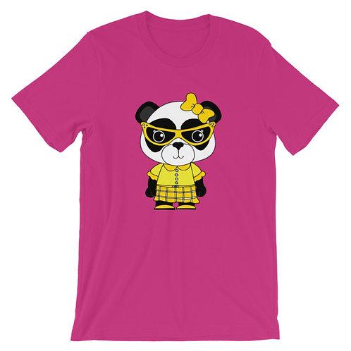 Nerdamals Panda Adult Unisex T-shirt