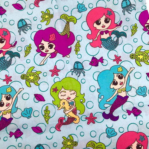 Mermaid Life Fabric