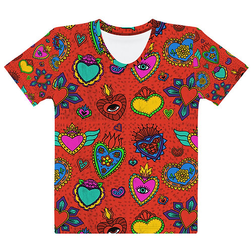 Corazon Milagros Women's T-shirt