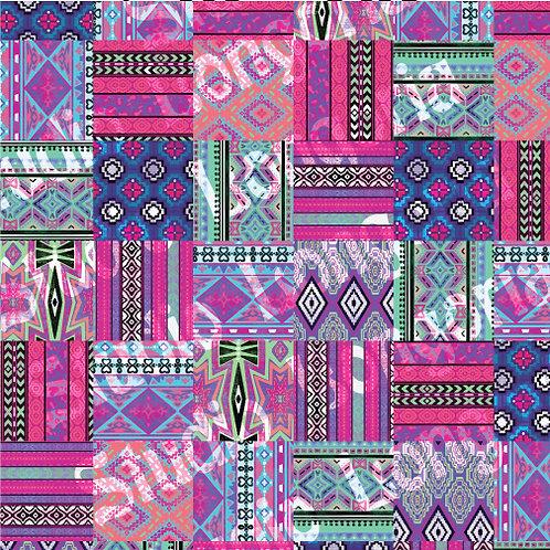 Modern Serape Quilt Blocks