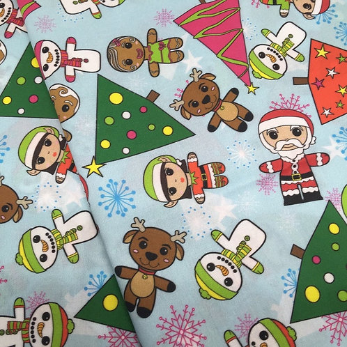 Christmas Cuties Fabric