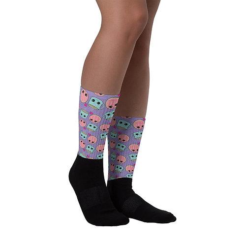 Conchas y Cafecito Socks