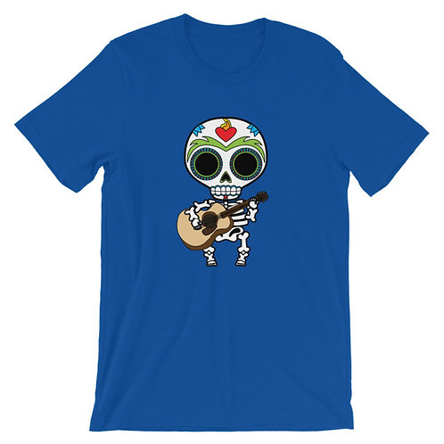 Musical Muerto  Adult Unisex T-shirt