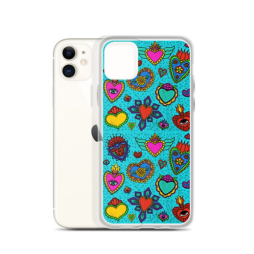 Corazon Milagros iPhone Case
