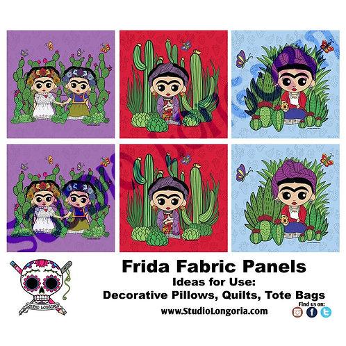 La Artista Nopales XL Panels Fabric